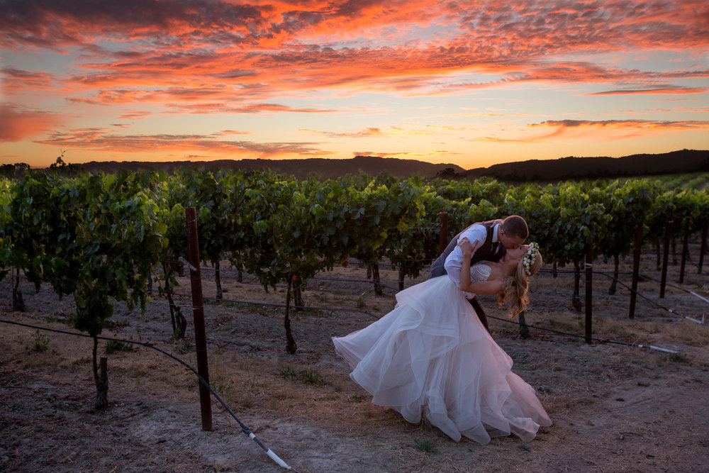 Napa Sonoma Winery Wedding Venue