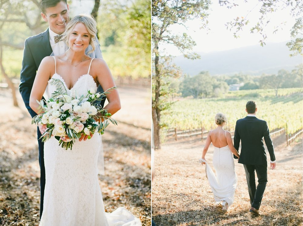 Kayla and Matt's Napa Wedding