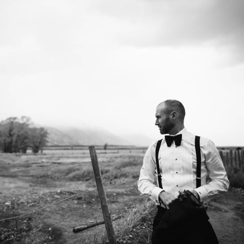 Groom Jackson Hole Wedding