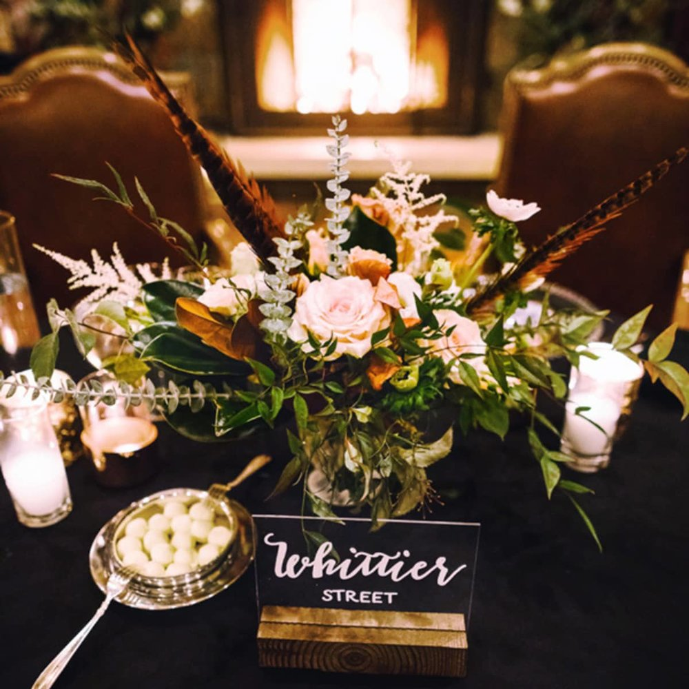 Jackson Hole Wedding Table Decor