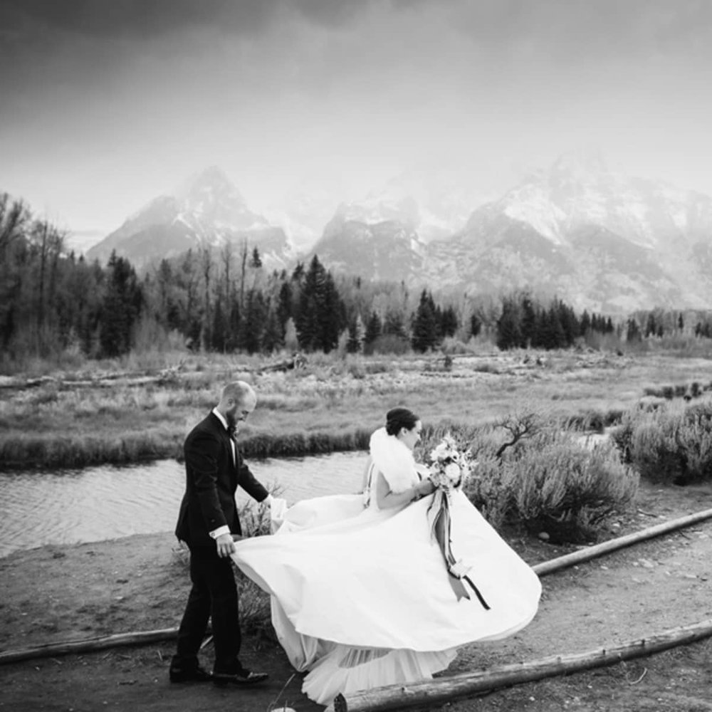 Jackson Hole Wedding at the Four Seasons Resort