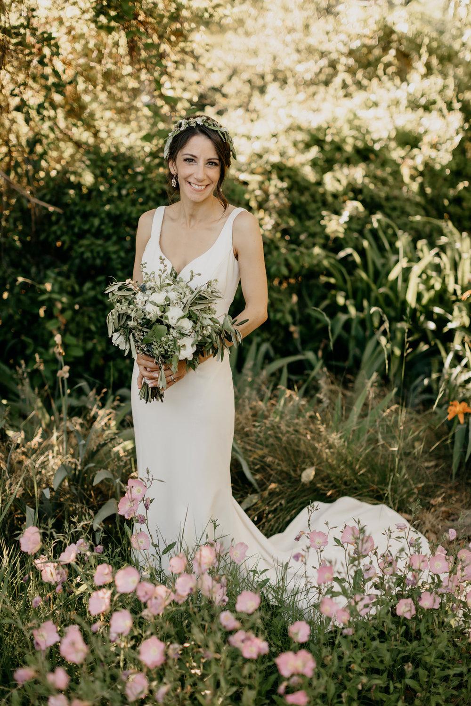 Bridal Gown & Wedding bouquet