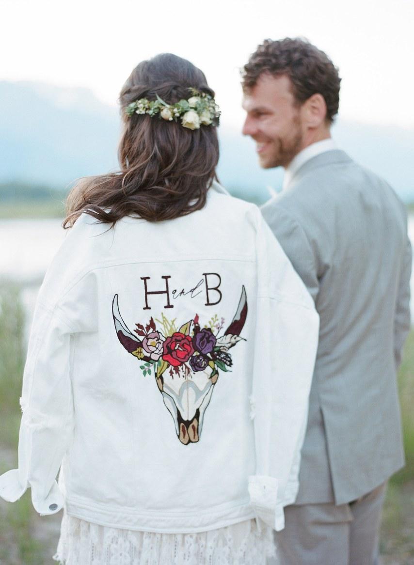Boho Wedding in Jackson Hole, Wyoming