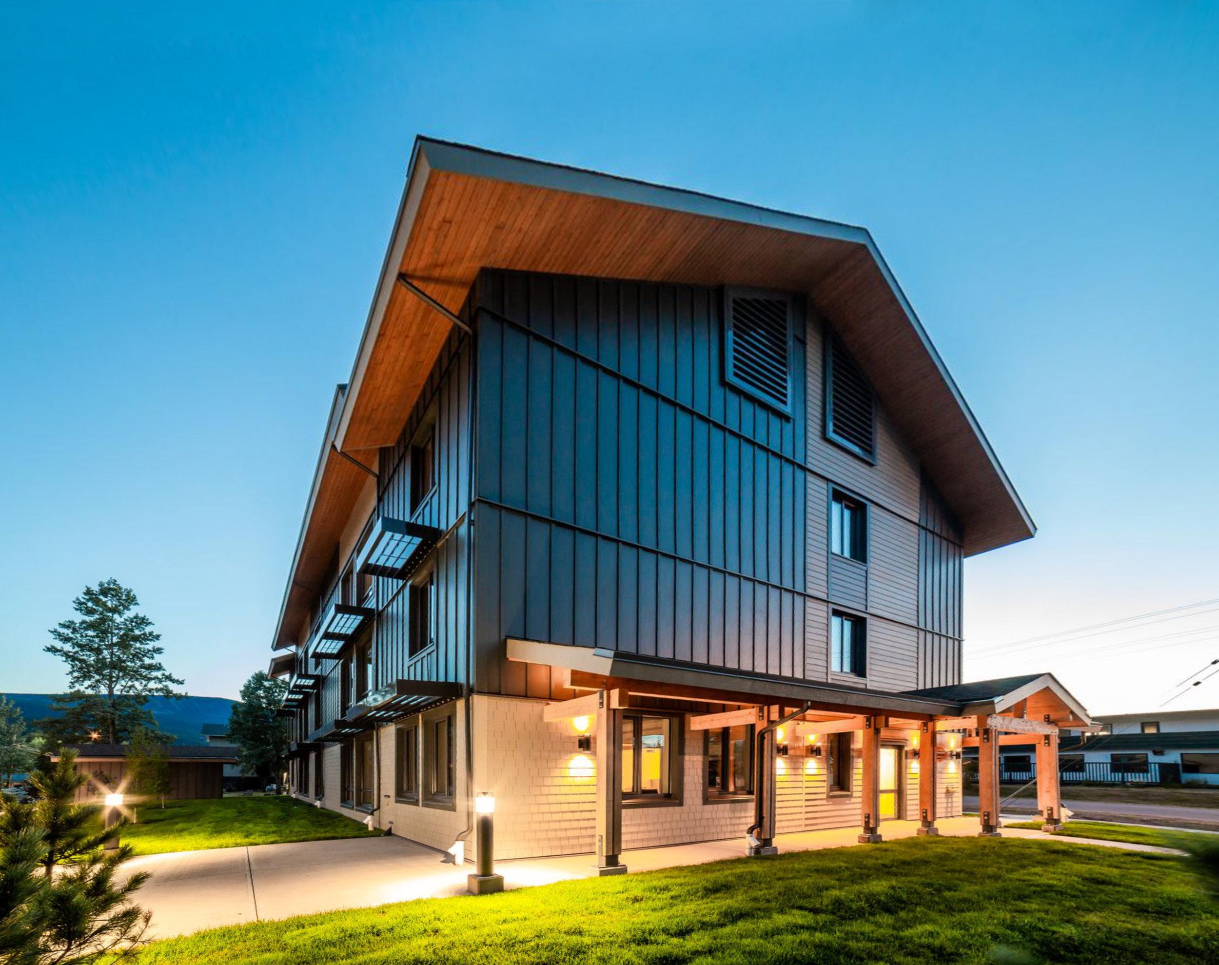 Passive House Cornerstone Architecture