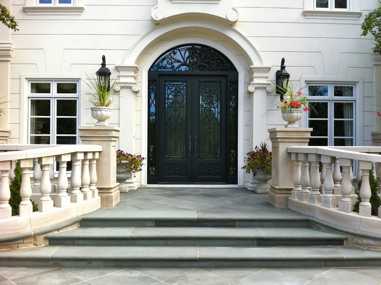 Front Entry -