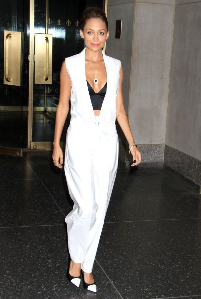 nicole-richie-the-today-show-j-brand-spring-2013-vest-white-trousers-alexander-wang-satin-bra-top-saint-laurent-leather-cap-toe-pumps.jpg