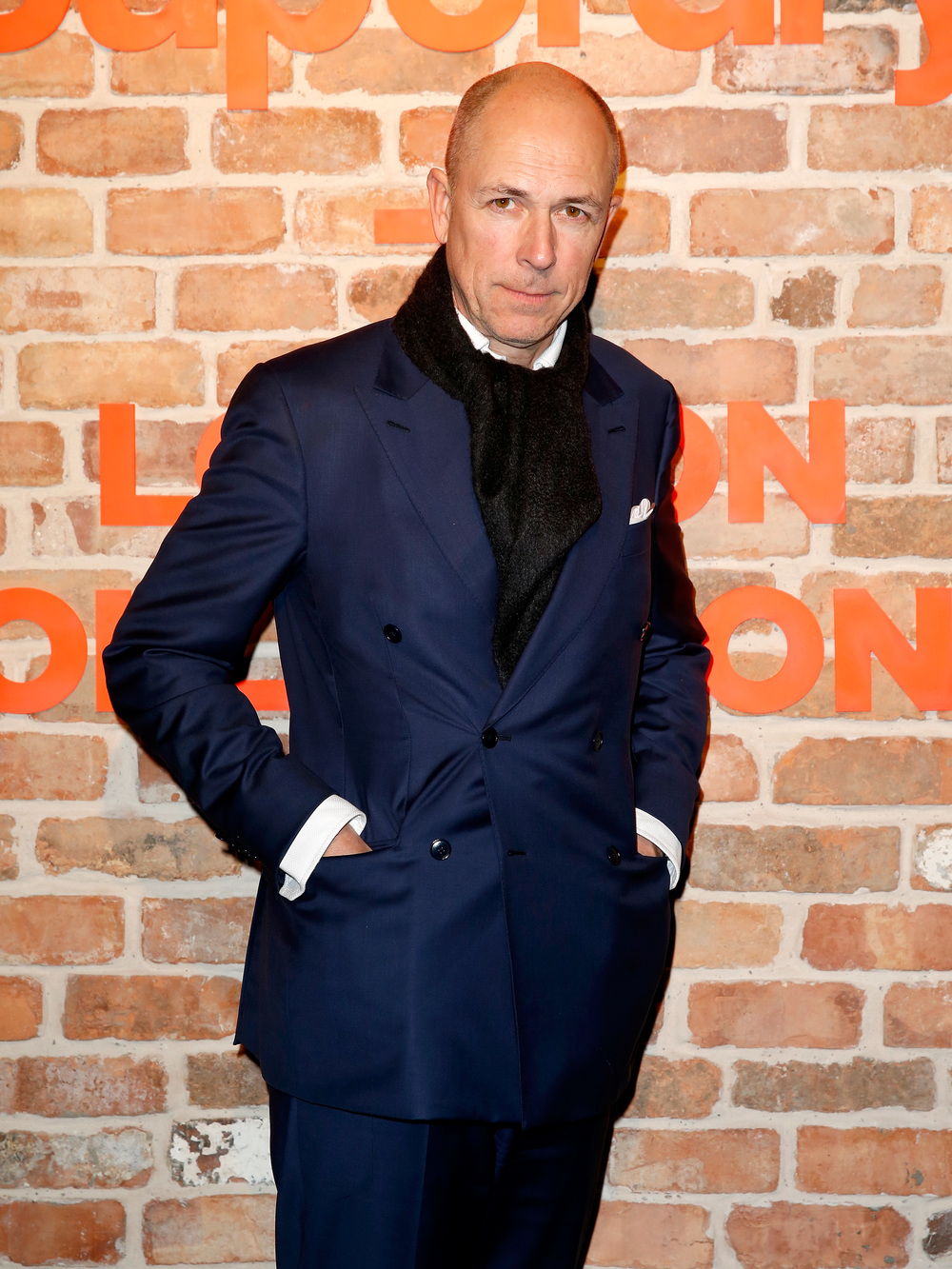 Dylan Jones, British Fashion Council Member and Editor of British GQ.
