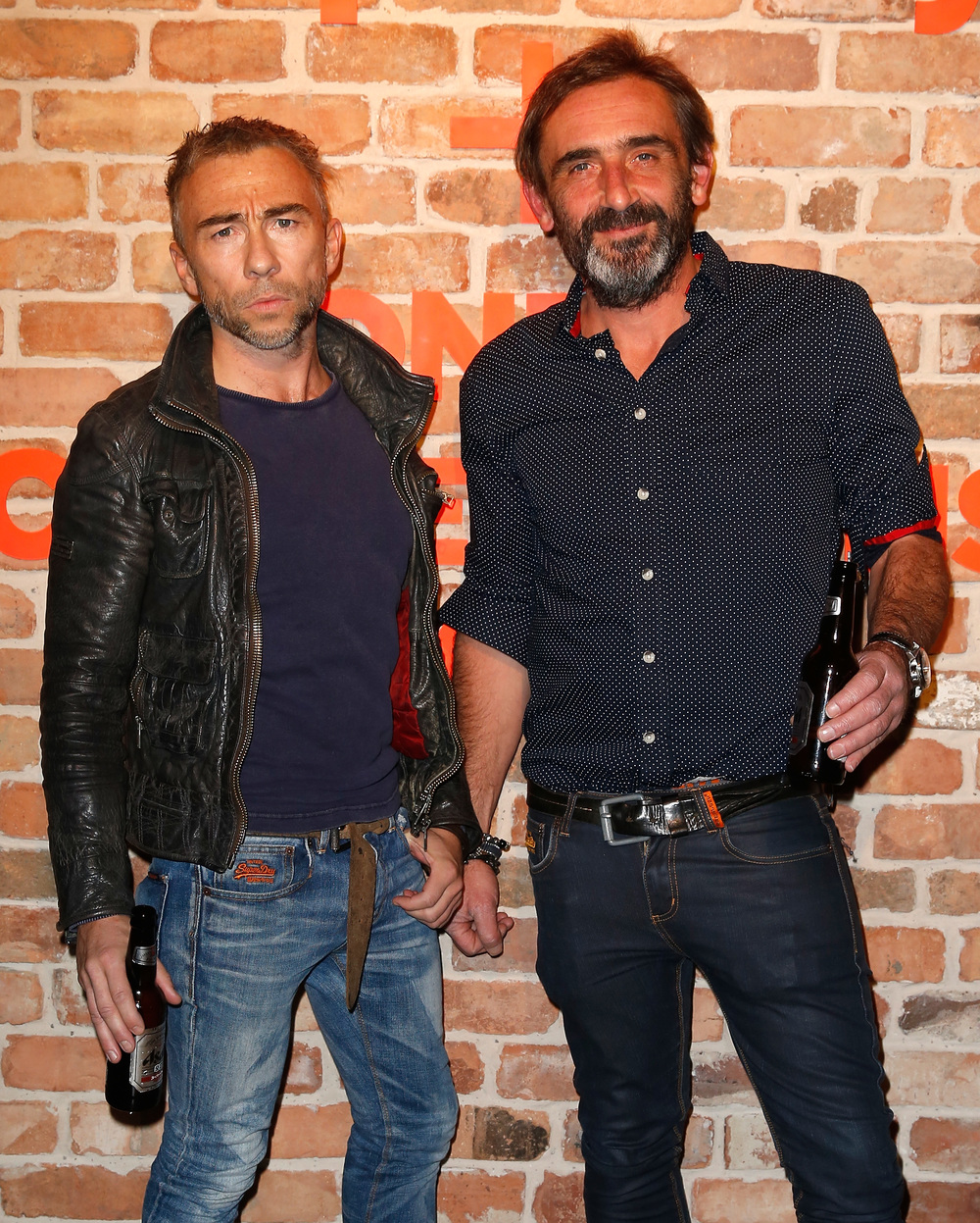 Superdry co-founders James Holder and Julian Dunkerton