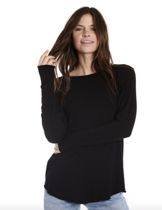 https://groceriesapparel.com/collections/shop-women/products/lazy-tee-long?variant=34499136709