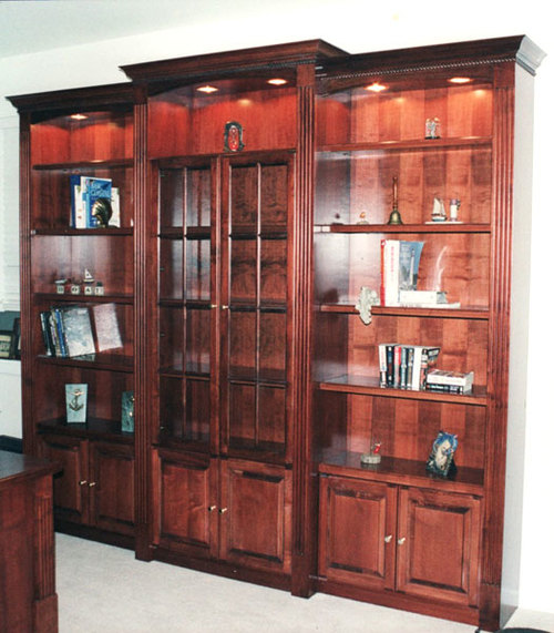 Wall Units/Bookcases — RUFFER REDESIGN