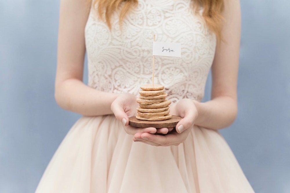 Pancake Stack Name Cards