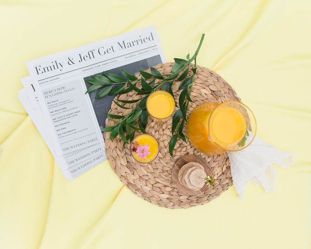 Sunrise Brunch Wedding Inspiration