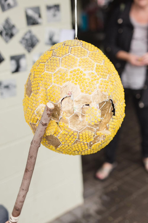 Beehive Pinata DIY