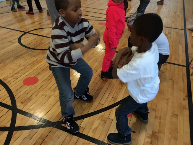 Children learn teamwork when they work and play together.