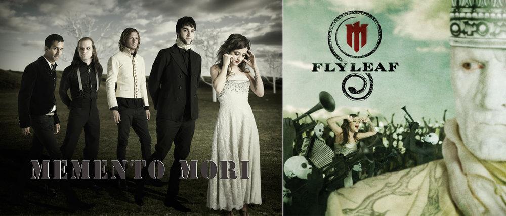 Flyleaf: Memento Mori Album Artwork
