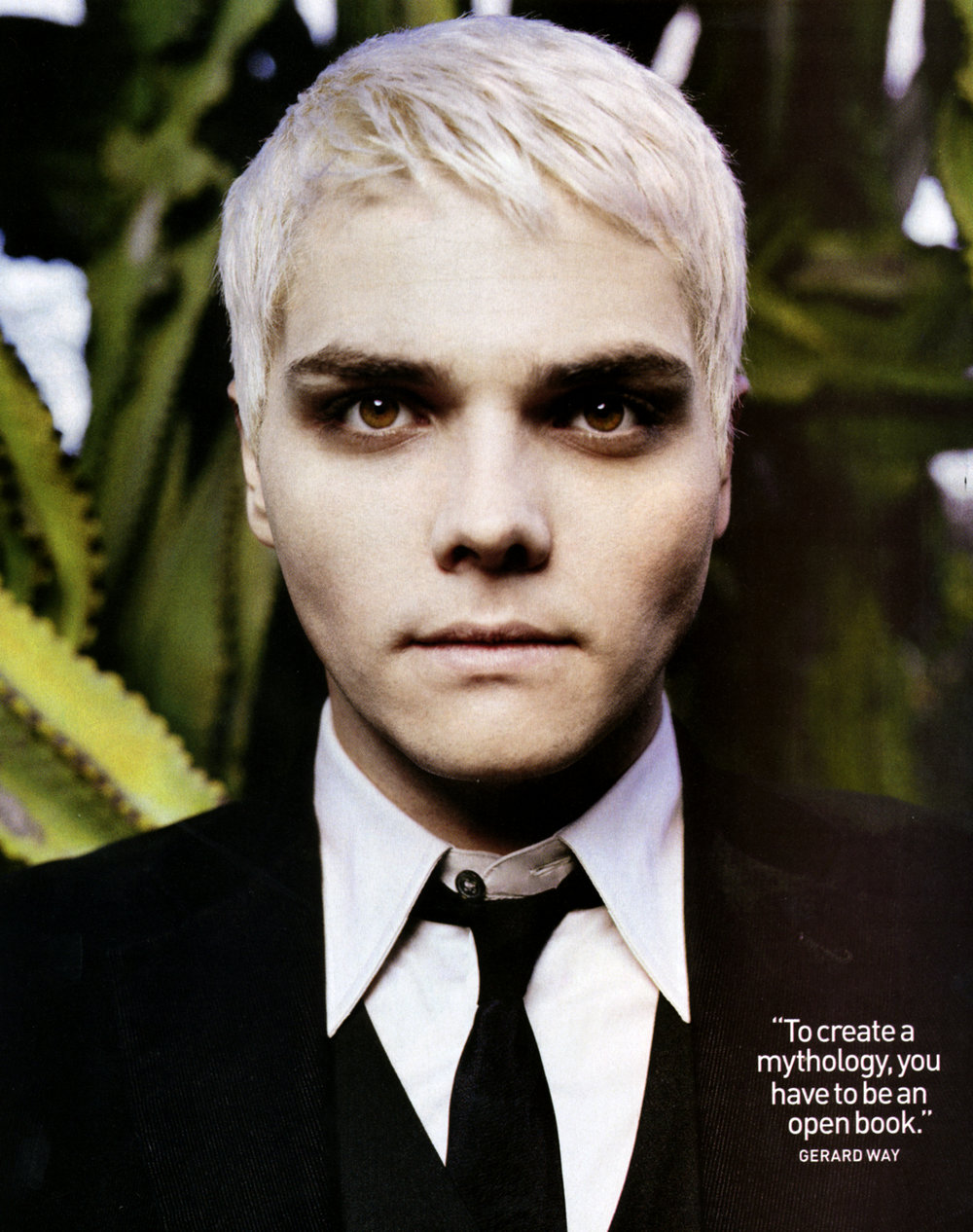 Gerard Way: Spin Cover & Editorial
