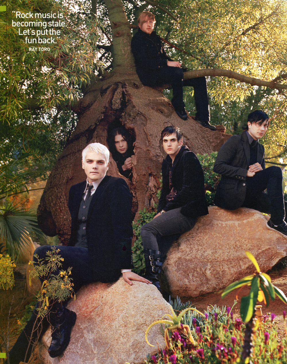 Spin Magazine Cover & Editorial - My Chemical Romance