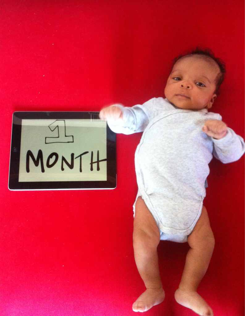 our little boy is one month old today!    i have so many (overdue) posts brewing in my head but this boy is a handful.