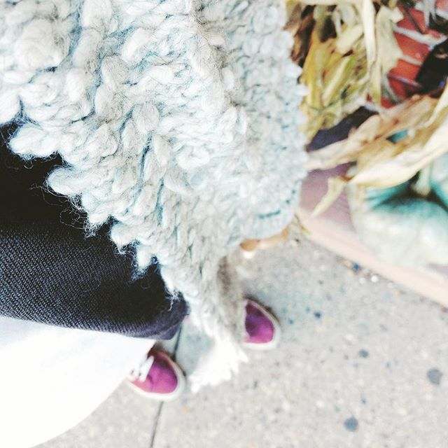 two obsessions: fall and my new cozy threads from an unexpected spot.  #mondays #thingsdiscovered