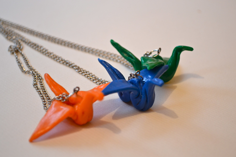 Crane Necklaces (2nd view)