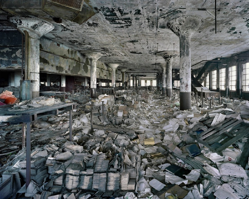 An abandoned Third World Country factory.  From www.huffingtonpost.com.