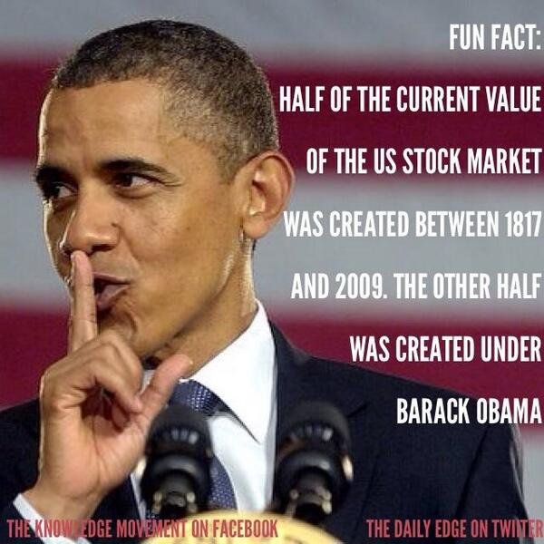 Not just a bull market, Obama recovery points to a strong bull economy — The People's View