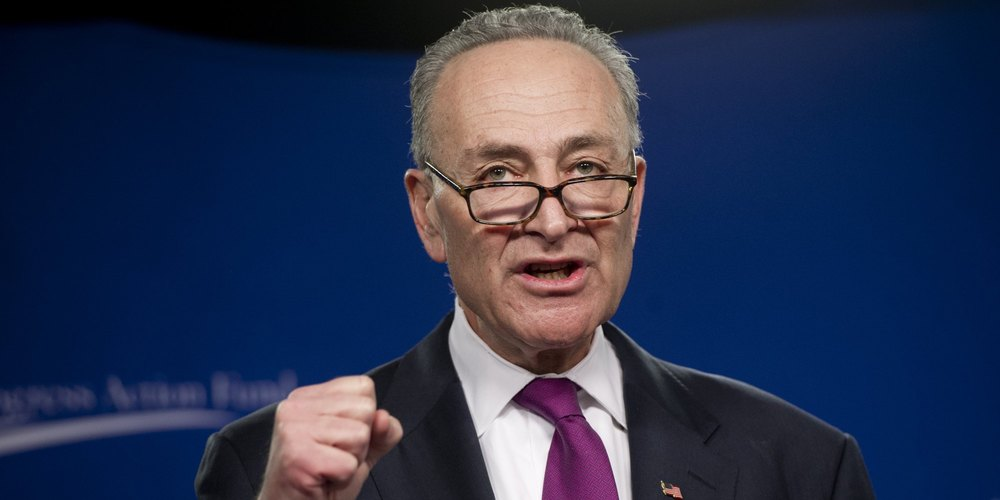 Chuck Schumer should remember he is an American Democrat, not the Senator from Likud.