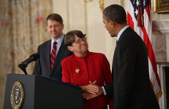 President Obama nominates Mary Jo White to Chair the SEC. January 2013.