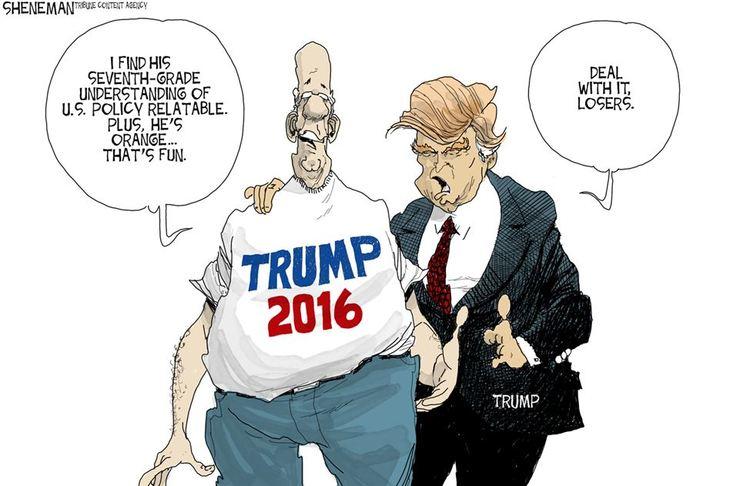 Image result for Roman Genn+Trump