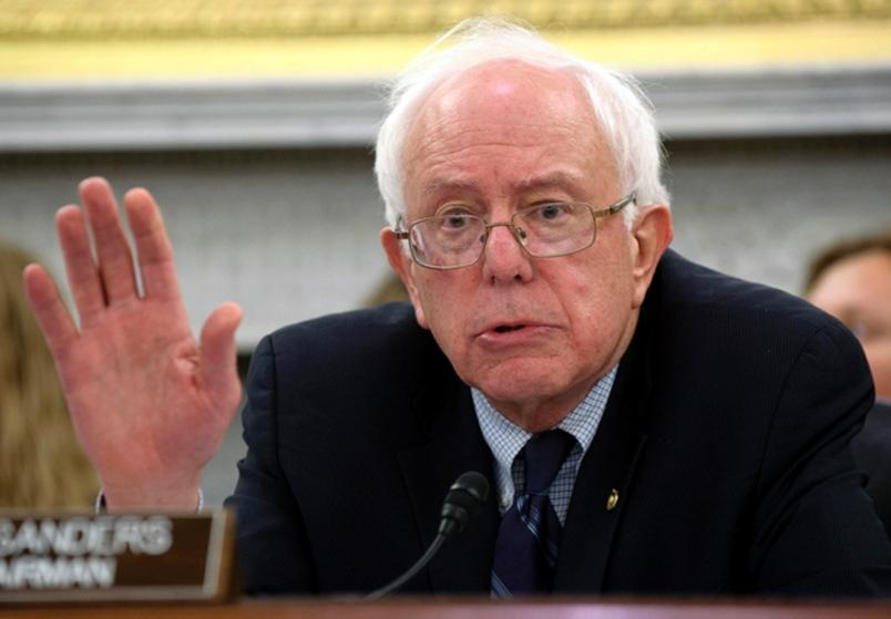 Stop this now, Sen. Sanders.