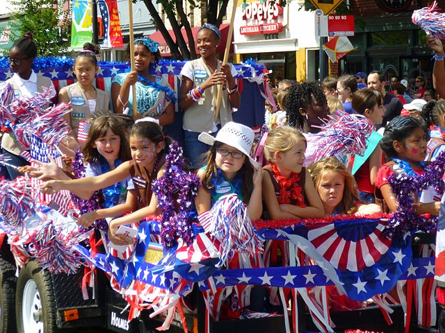Millions of Americans will be celebrating how great America is tomorrow.  Photo courtesy of Wiki Commons.