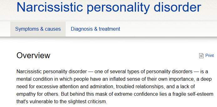 Life under a narcissistic sociopath — The People's View