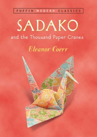 Supplies Origami folding Instructions Origami Paper Sadako and the Thousand Paper Cranes By: Eleanor Coerr   Goals, Objectives, benefits- WHY? Sadako Sasaki was 2 years old when the atomic bomb was dropped on Hiroshima. She lived close to the site and would later die from radiation poisoning at the age of 12. Sadako believed that if she folded 1000 origami cranes, she wouldn't die. (You see, the story of the crane is important in Japanese culture- symbolizing loyalty, grace and beauty and it is thought that if one were to fold 1000 cranes the person will be granted their greatest wish). Sadako's story has found it's way around the globe- acting as a call to end such horrors. Currently children from all over the world fold and send cranes to be strung on the Sadako memorial in Hiroshima. There are multi disciplinary possibilities in teaching this to middle range aged children (5th grade). The subject matter is dark yes- but I believe that the culture of violence children are exposed to - or rather immersed in often times has no face- and the idea of consequence or empathy is lost. The original plan was meant for middle school children but I believe it to be an effective teaching tool for upper elementary as well. This lesson integrates art, social studies, history…. and teaches leadership- as the children will emerge as teachers themselves in the folding process.   Steps  1. Introduce the story of Sadako to the students (read- Sadako and the Thousand Paper Cranes By: Eleanor Coerr ) -  This will give students some time to connect with the information and gather the student's attention. -Show class photos of memorial with cranes. 2. Couple this reading with a brief history lesson- detailing location of Hiroshima (could even later tie in continued lessons on country study- culture, landscape). 3. Give class instruction on folding origami crane. Practice the folds, allowing for children to assist each other. 4. Once the children feel confident, use origami paper for final folding.       Estimated Time 60 minute multiple sessions (2).   Elements and Principles of Design   Form- The length width and depth of the paper will be explored as it is transformed into a same-but new creation. Pattern- The arrangement of form will be focused upon as students explore the various folding pattern it takes to create the crane.   Common Curriculum Goals Students will understand and apply media, techniques and processes Describe an artwork to serve a function. Compare and contrast different functions of art in various environments using targeted vocabulary. Demonstrate an understanding of a variety of tools and materials used to create a work of art. Students will understand the visual arts in relation to history and cultures. Recognize connections between historical events and art development. Research connections between art, cultures, and history.   Assessment Evaluation Part of the lesson is that the classroom when finished with their lesson will teach the rest of the school. Previous experience with this lesson has shown a class-wide enthusiasm for the project and school wide participation. The enthusiasm of the students seems to be proof of learning.   Interdisciplinary Connections This subject connects to art, history, social studies and geography.   Related Resources Oregon Art Standards http://www.tn.gov/education/ci/arts/visualart5.shtml Sadako Sasaki http://en.wikipedia.org/wiki/Sadako_Sasaki