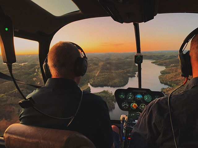 Cheeky chopper flight