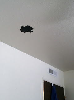 5/26 Cedar City, UT: The bat cave-- all powerful gaff tape prevents the bats from entering uninvited