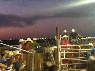 Holy Cowboys, Batman!! ---Rodeo de Santa Fe