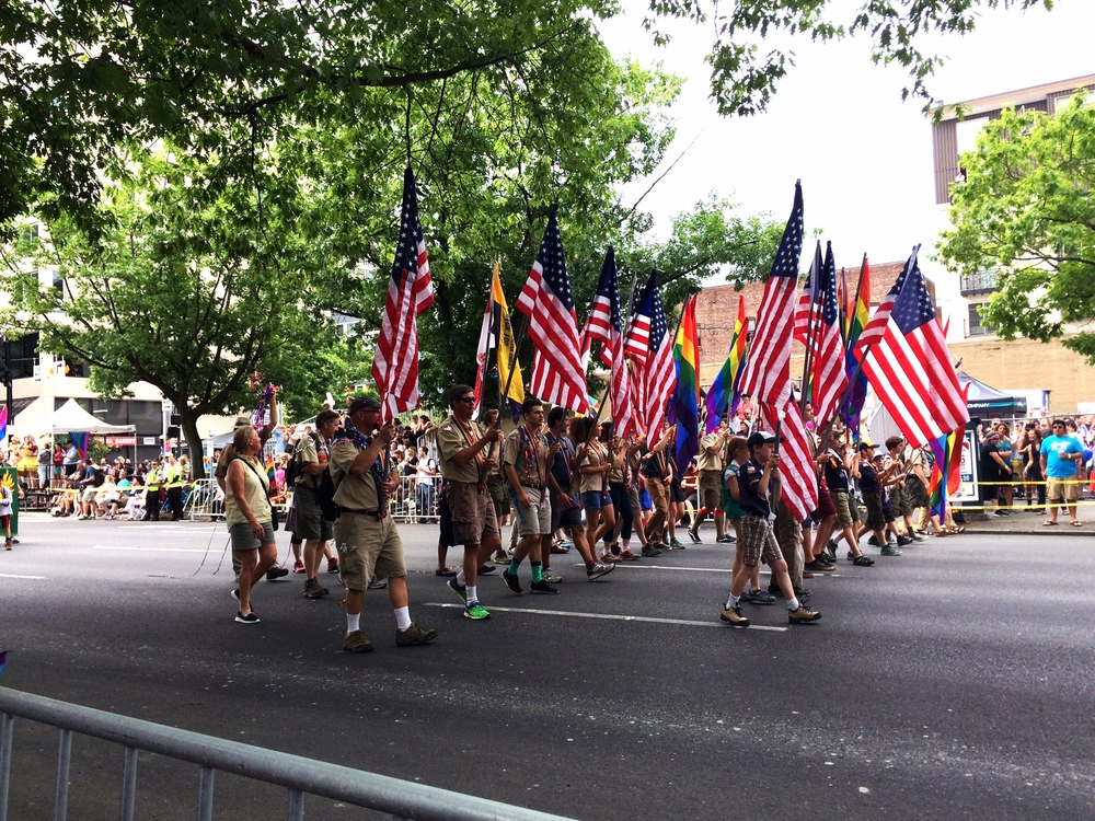 Boy and Girl Scouts of America