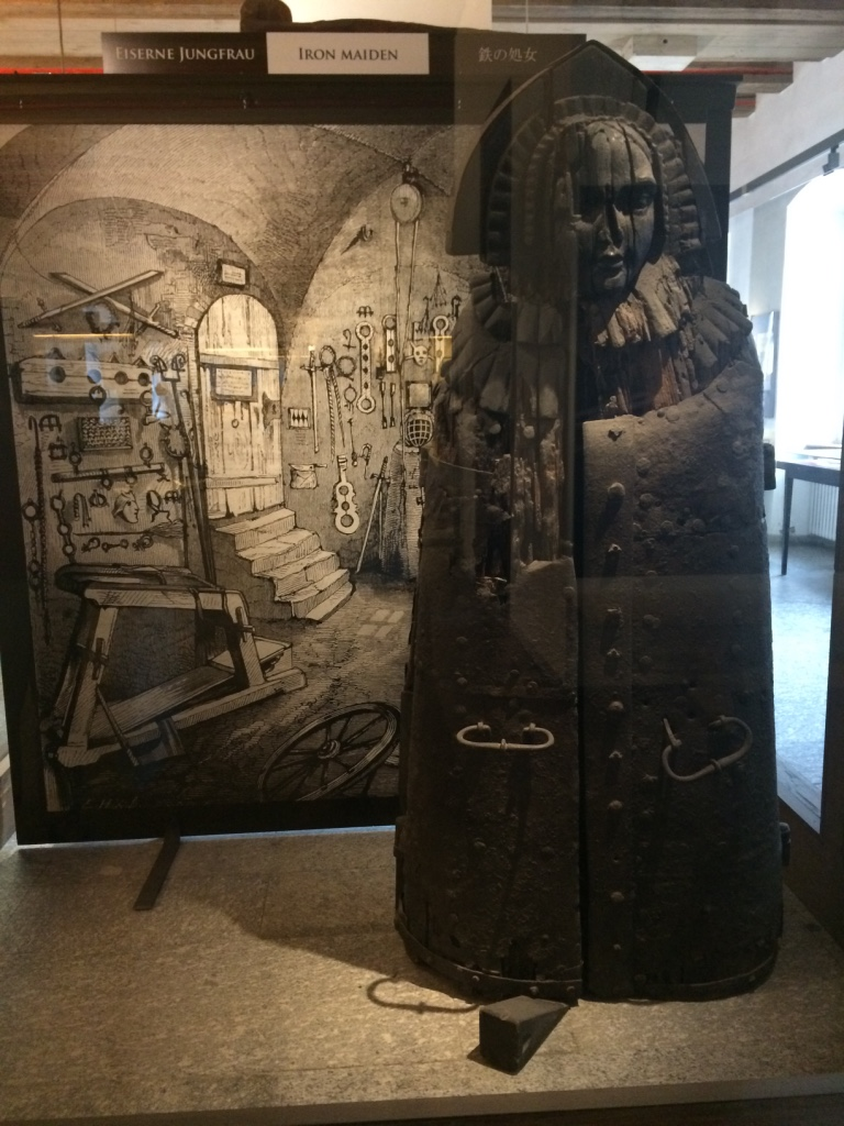 An Iron Maiden at the Medieval Torture Museum