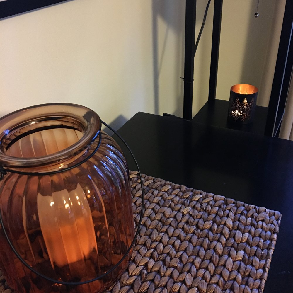 Small votive from Crate and Barrel