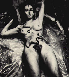 Carolee Schneemann,  Eye/Body  via caroleeschneemann.com