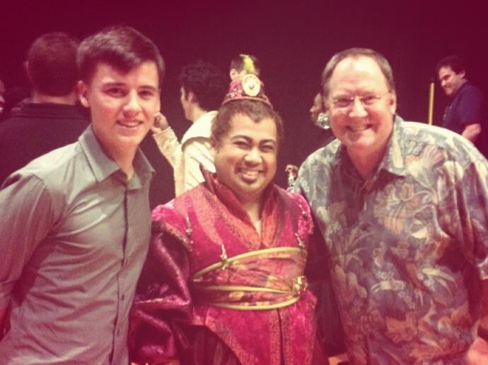 Jackson and John Lasseter
