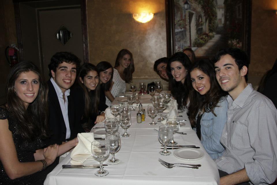Annual Freshmen Dinner