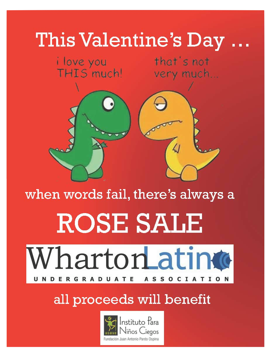 Annual Valentine's Day Rose Sale 2014
