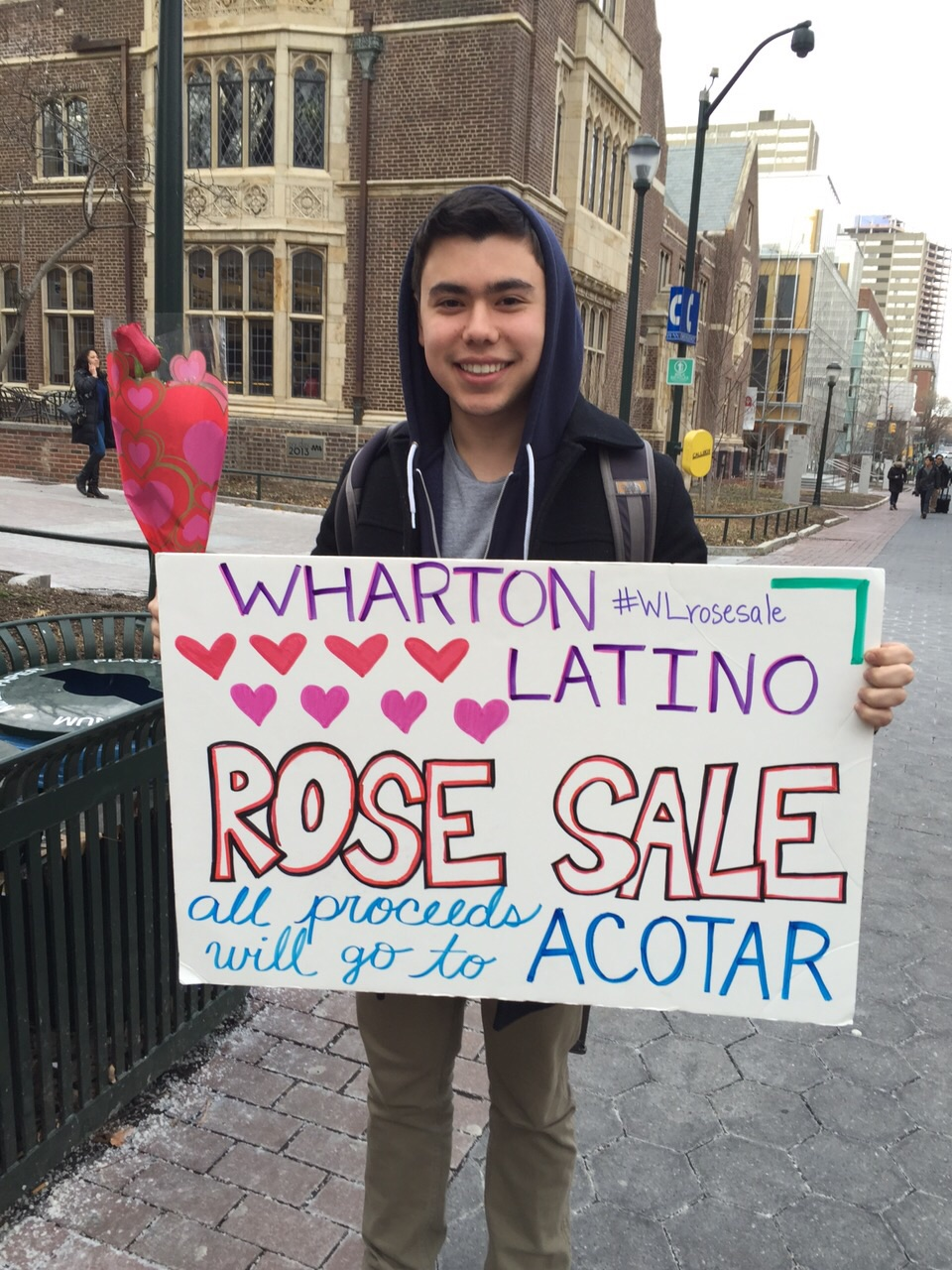 Annual Valentine's Day Rose Sale 2015
