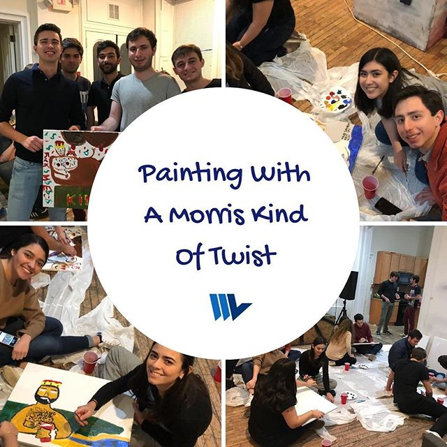 Some snapshots of Friday's event: Painting With A Moris Kind Of Twist!  Thanks to all who came, it was awesome to see all of our members showcase their artistic skills 👩🏼‍🎨👨🏼‍🎨
