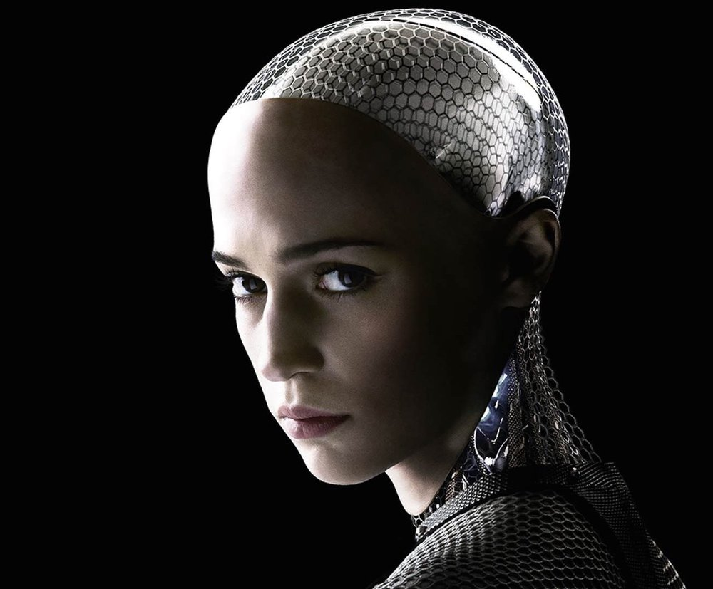 Ava.  Ex Machina  (2015)