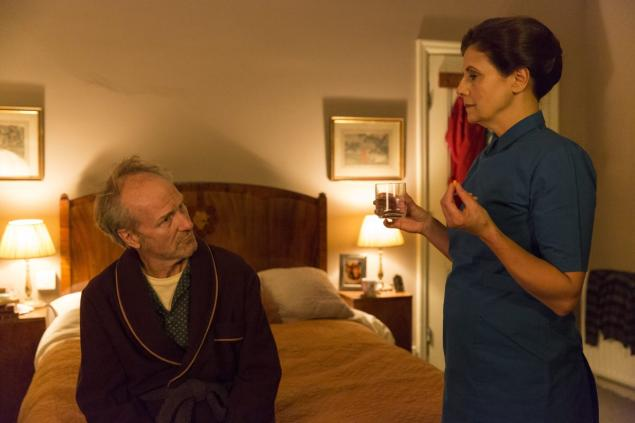 William Hurt and Rebecca Front,  Humans