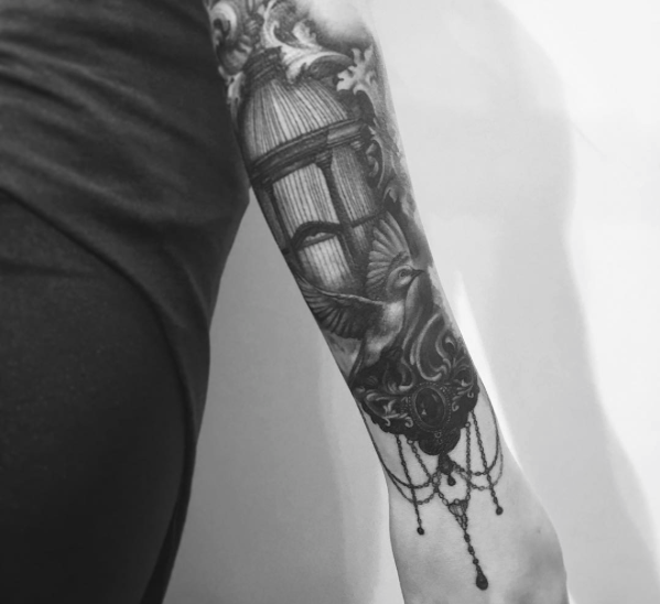 Tattoo by Jimi May