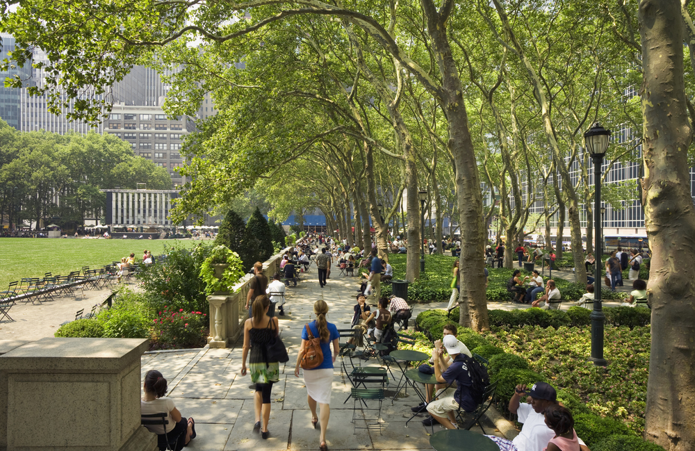 Bryant Park, New York. Photo courtesy ASLA.