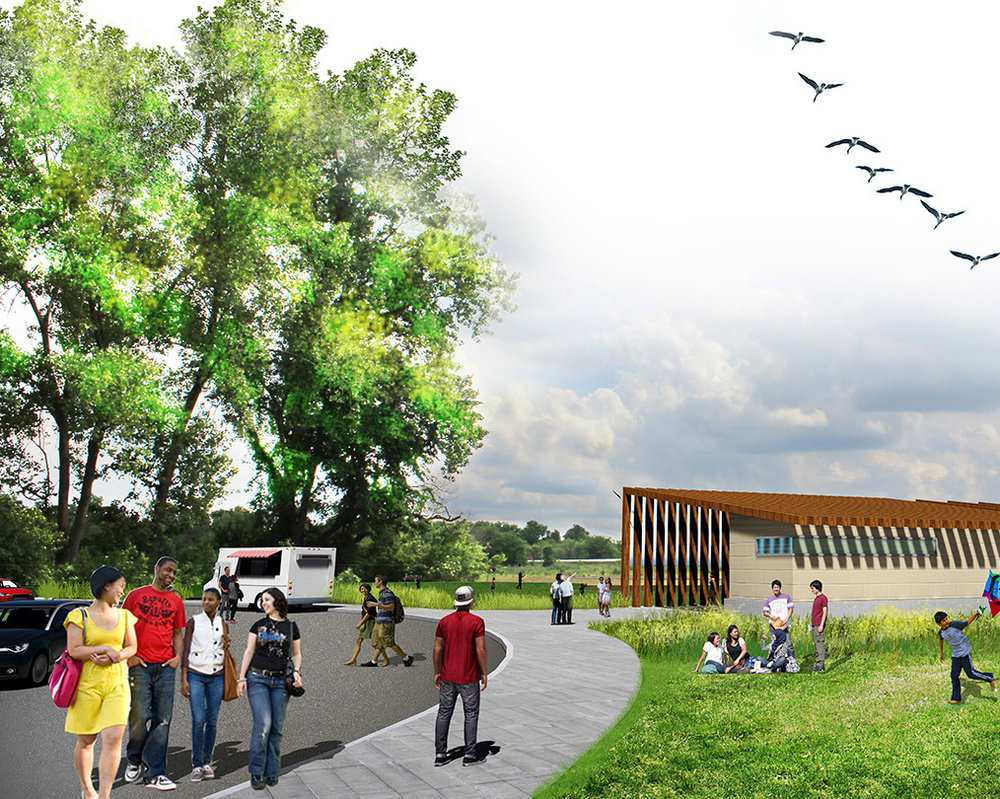Twin Creeks Linear Park Design